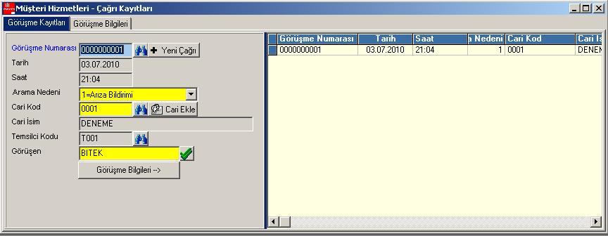 AXOFT CRM  Programı
